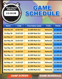 jet bingo mega bingo network bingo game schedule