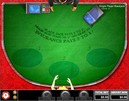 jet bingo single player blackjack online casino game