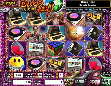 jet bingo disco heat 5 reel online slots game