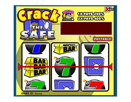 jet bingo crack the safe 3 reel online slots game